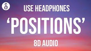 Ariana Grande - positions (8D AUDIO)