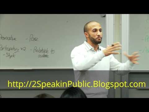 Public Speaking For Beginners - YouTube