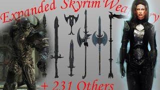 Skyrim обзор модов: Текстуры крови; Расширенная оружейня; Броня Контрактора и Молога Бала
