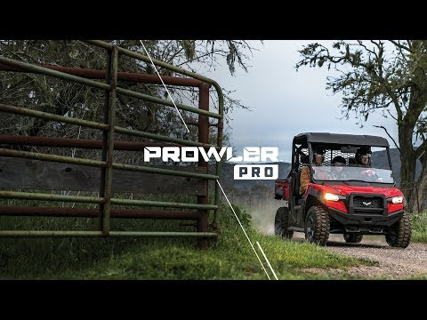 2019 Textron Off Road Prowler Pro in Cable, Wisconsin - Video 1