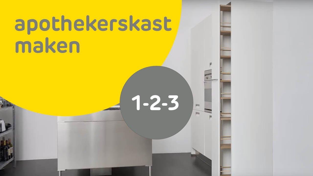 Apothekerskast maken | voordemakers.nl