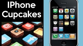 GIANT IPHONE CAKE! Social Media Cupcakes By Cupcake Addiction