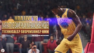 NBA Live 19: Impressed with RPM + Is Narrative Game Play in Franchise? Speculation