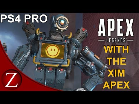 Xim Apex Mouse and Keyboard Settings - Apex Legends PS4 Pro Gameplay