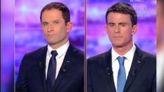 法国总统大选社会党举行初选保守党_投票