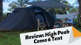 Review Khemah: High Peak Como 6 Tent Review