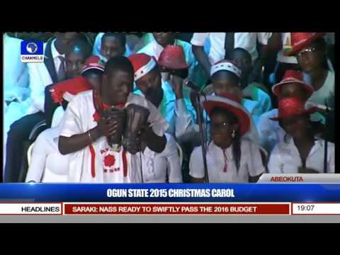 Ayan Jesu Wows At Ogun 2015 Xmas Carol