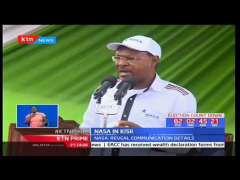 NASA asks government to reveal details of deal on transmission of election results