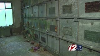 The city plans to remove the bodies in the mausoleum