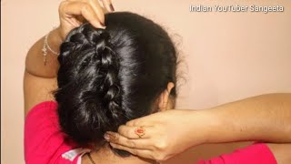 Simple hairstyle for Wedding/party || Hairstyles for Girls || Hairstyles for Girls ||cute hairstyle