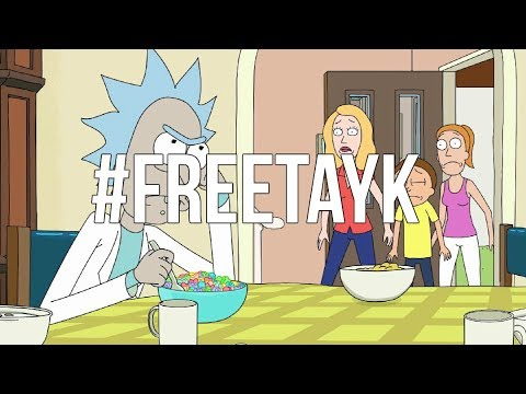 TAY-K x THE RACE (BASS BOOSTED) Rick & Morty Edition #FREETAYK 🔥