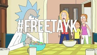TAY K X THE RACE (BASS BOOSTED) Rick & Morty Edition #FREETAYK 🔥