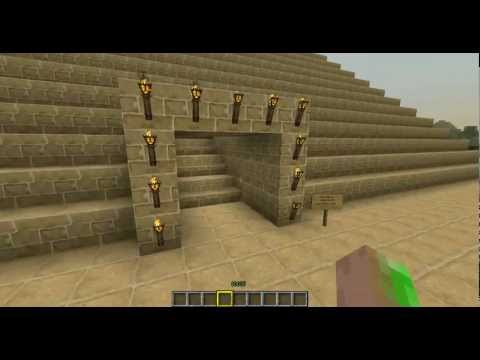 Minecraft Pyramide mit Fallen (Pyramid with traps)