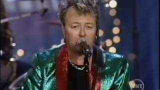 "BRIAN SETZER - ""SANTA CLAUS IS BACK IN TOWN"" & ""JINGLE BELLS"", 2002 [132]"