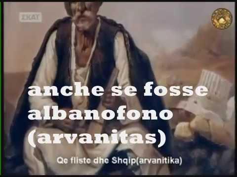 La fustanella ha origini albanesi , lo dicono gli storici greci