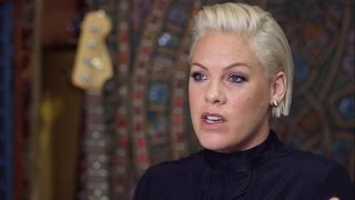 EXCLUSIVE: Pink Talks Being Alone After She Walks Off the Stage: 'There's Nobody'