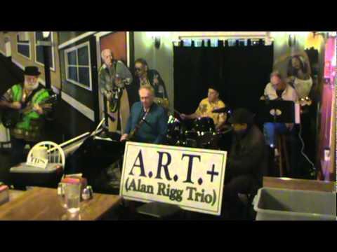A.R.T.(Alan Rigg Trio)+ The ARTful Horns  Delilah