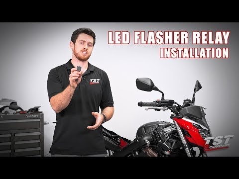 How to install an LED Flasher Relay on a 14-18 Honda CB650F by TST Industries