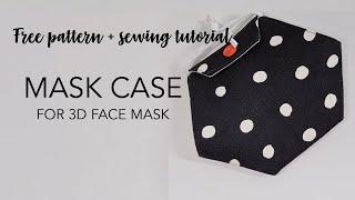 Free Mask Case / Mask Holder Pattern For 3D Face Mask