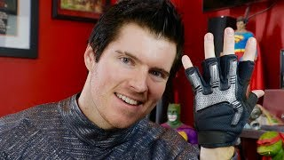 The Road to Red Hood: Part 5- Black Hair, Eyebrow Scars, New Fabric & Gloves!