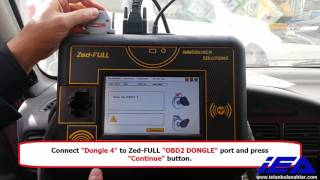 Proton 8C Transponder OBD Key Programming with Zed FULL