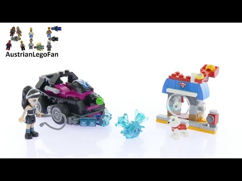 Vidéo LEGO DC Super Hero Girls 41233 : Le tank de Lashina
