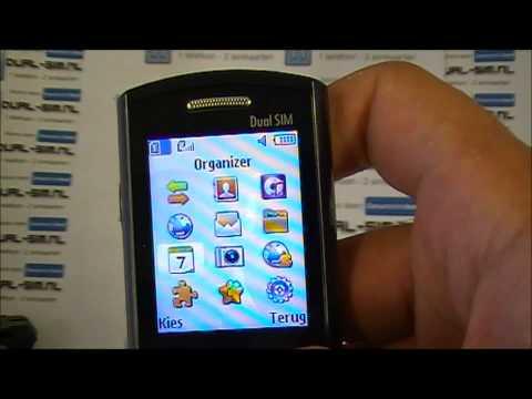 Unboxing of Samsung E2152 + Quick tour around menu