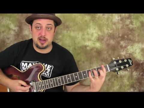 Marty Schwartz Advanced Power Chord Guitar Lesson