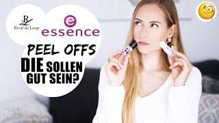 Peel Off Nagellack im Test | ESSENCE vs. RIVAL DE LOOP »Lalalunia«