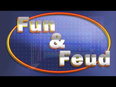 Fun and Feud Family Feud Inspired Mobile Game Show For Rent Team Building Exercise, Ice Breakers