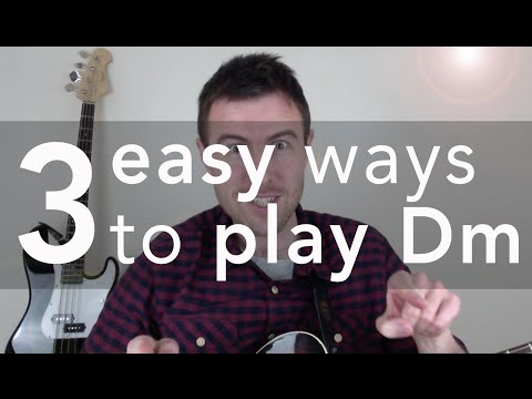Dm Guitar Chord (3 Easy Versions)
