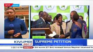 Uhuru Kenyatta and IEBC's Chair, Chebukati response submission deadline