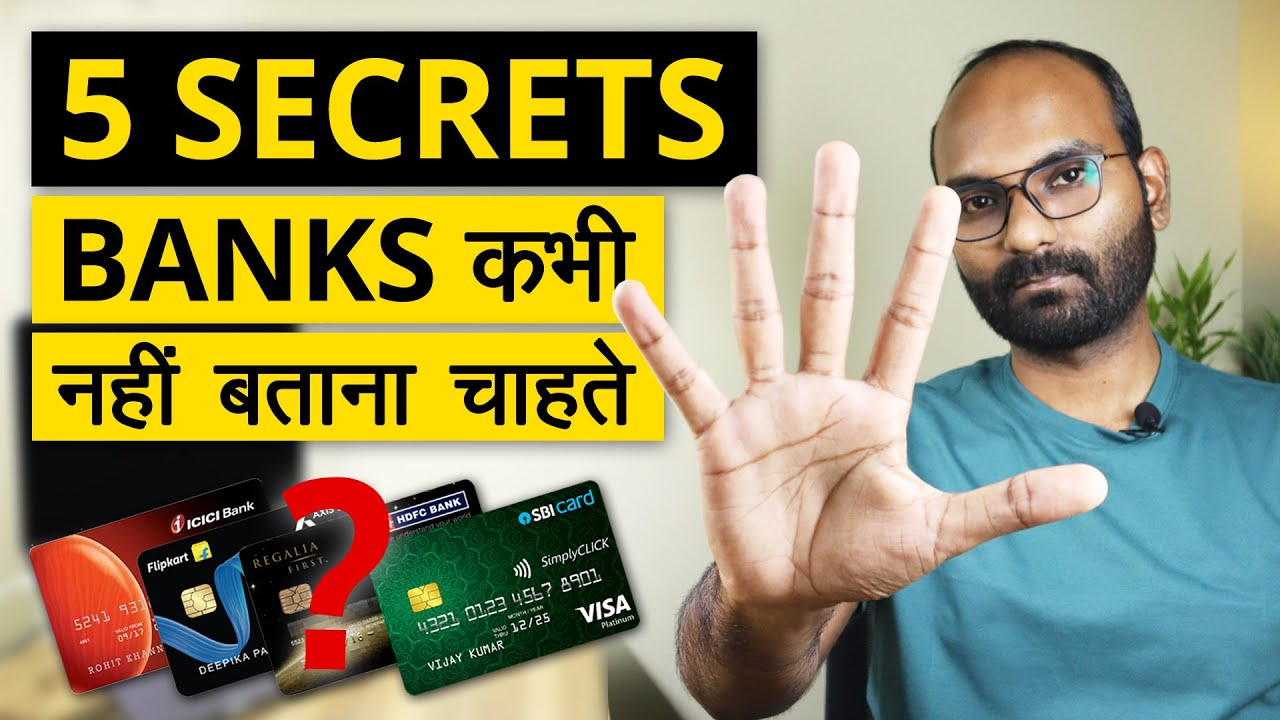5 Credit Card Secrets That Banks Don't Want You To Know|Charge Card Tips & Secrets thumbnail