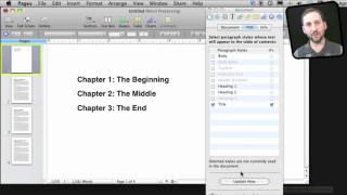 Creating a Table of Contents In Pages (MacMost Now 542)