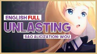 """【mew】""""Unlasting""""  FULL ║ SAO Alicization: War of Underworld ED ║ ENGLISH Cover & Lyrics"""