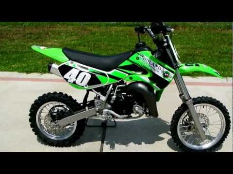 2009 Kawasaki KX65 Youth Motorcross Bike!
