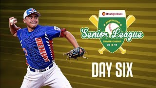 Bendigo Bank Australian Senior League Championship, DAY SIX #ASLC2018 | Kholo.pk