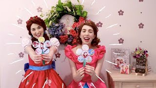 KIDS DIY Flower Craft Video with Poppy and Posie Blossom!