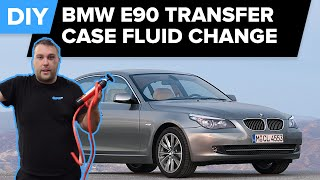 BMW E90 Transfer Case Fluid Change - Avoid Costly Repairs (3-series, 5-series, 6-series, 7-series)