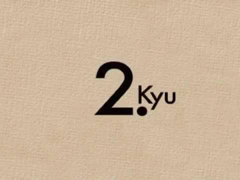 Kyu Prüfungsprogram - 2.Kyu Teil 1