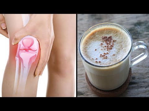 Trink dieses Getränk um Knie- und Gelenkschmerzen in 5 Tagen los zu werden!