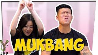 Generic vs Brand MUKBANG   Taste Test Challenge ft. Stephanie Soo