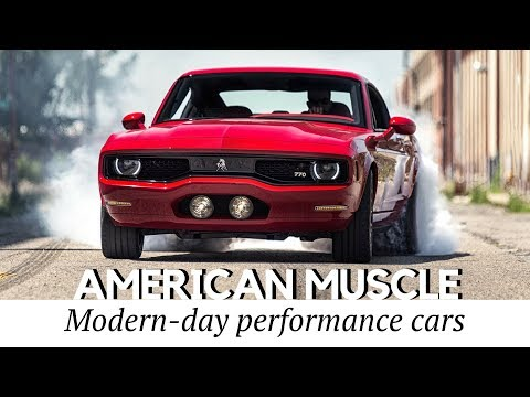 10 New Muscle Cars Better Than American Classics (Record Speeds & Price Tags)