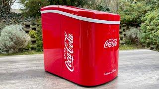 Coca Cola Eiswürfelmaschine Test - Abkühlung für Getränke Deutsch German