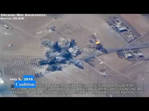 New Footage US Coalition Airstrike Against ISIS In Syria + Other Recents Released By DoD. Mp3