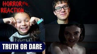 TRUTH OR DARE Official Trailer Reaction!!!