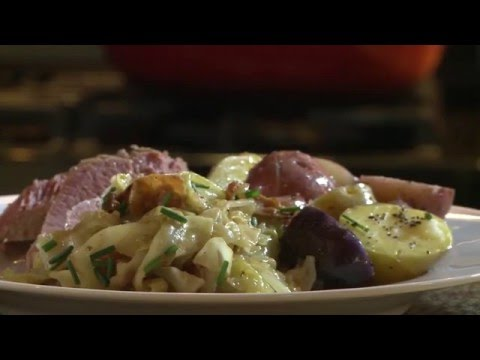 How to Make Fried Cabbage with Bacon Onion and Garlic | Bacon Recipes | Allrecipes.com