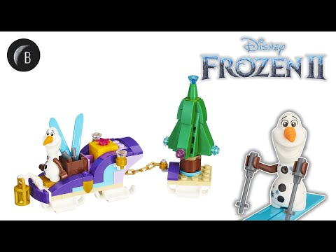 Vidéo LEGO Disney 40361 : Le traîneau d'Olaf