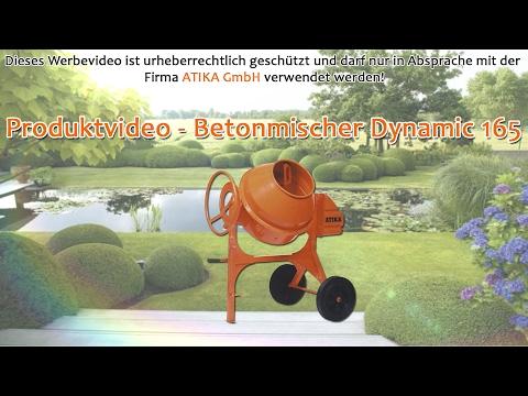 ATIKA Produktfilm - Betonmischer Dynamic 165