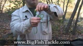 How to tie the perfection loop fishing knot